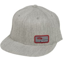 Simms Flexfit Patch Snapback Cap (For Men) in Natural Heather - Closeouts