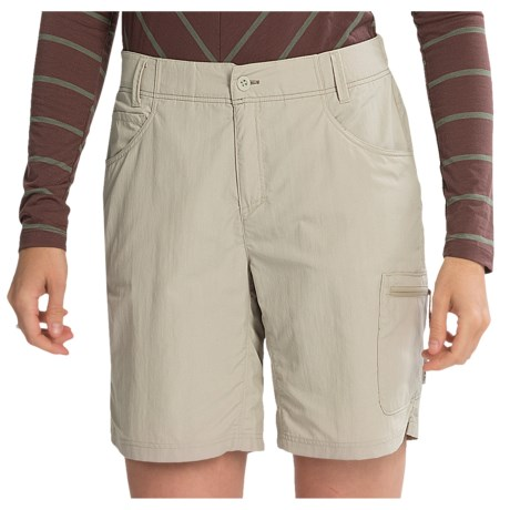 Simms Flyte Shorts - UPF 50+ (For Women) in Khaki