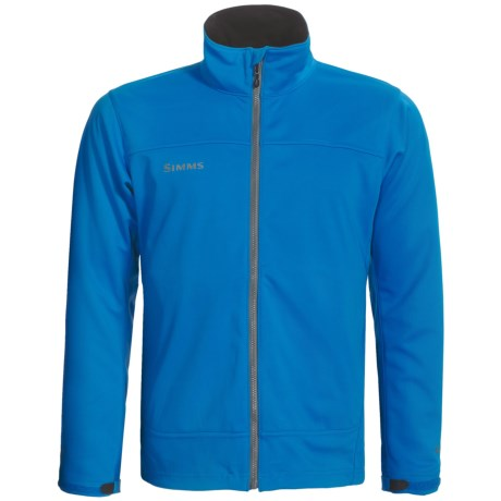 Simms Flyte Soft Shell Jacket - Windstopper® (For Men) in Ocean Blue