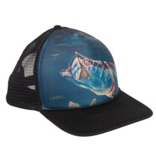 Simms Foam Artist Trucker Hat in Black - Closeouts