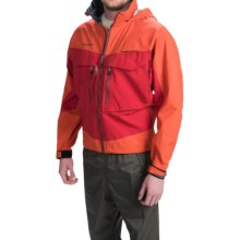 Simms G3 Guide Gore-Tex® Jacket - Waterproof (For Men) in Fury Orange - Closeouts