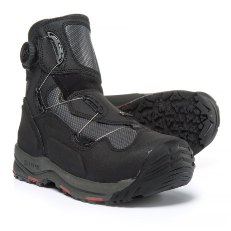 Simms G4 BOA® Wading Boots (For Men) in Black
