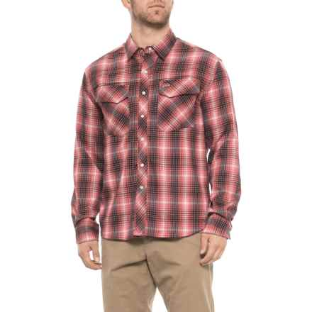 2be1ff8f Simms Gallatin Flannel Shirt - UPF 50, Long Sleeve (For Men) in Garnet