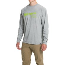 Simms Graphic Tech T-Shirt - UPF 20+, Long Sleeve (For Men) in Smoke - Closeouts