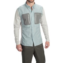 Simms GT TriComp Shirt - UPF 50+, Long Sleeve (For Men) in Slate Blue - Closeouts
