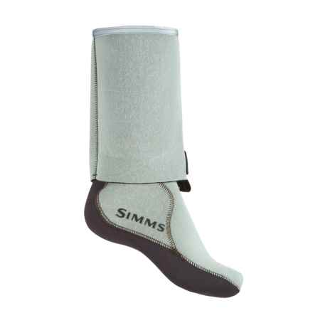 Simms Guard Socks - Neoprene (For Women) in Seafoam - Closeouts