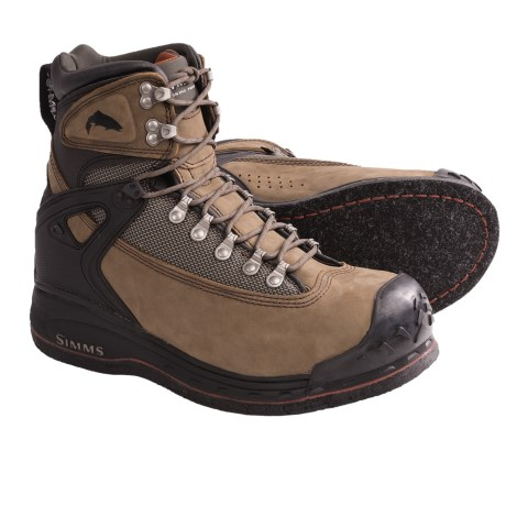 Simms Guide Boots - Felt Sole (For Men) in Brown