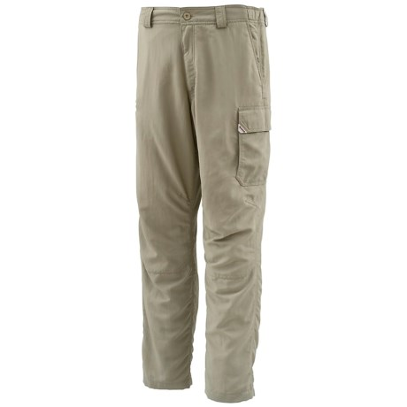 Simms Guide Fishing Pants - UPF 50+ (For Men) in Cork