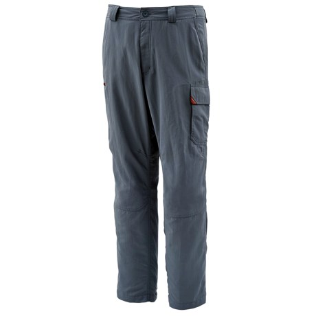 Simms Guide Fishing Pants - UPF 50+ (For Men) in Shadow