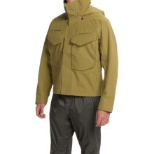 Simms Guide Gore-Tex® Jacket - Waterproof (For Men) in Army Green - Closeouts