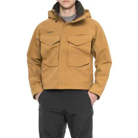 Simms Guide Gore-Tex® Jacket - Waterproof (For Men) in Honey Brown - Closeouts