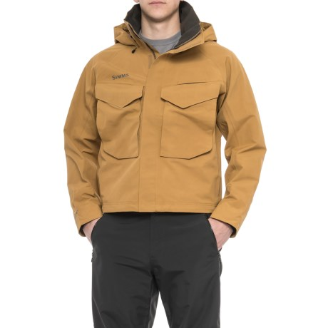 Simms Guide Gore-Tex® Jacket - Waterproof (For Men) in Honey Brown