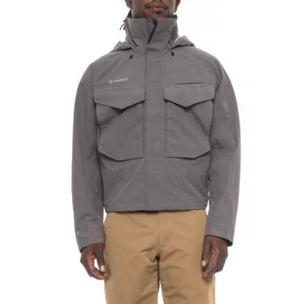 Simms Guide Gore-Tex® Jacket - Waterproof (For Men) in Iron - Closeouts