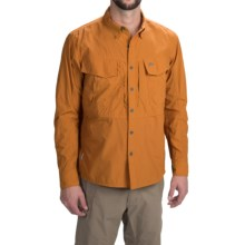 Simms Guide Shirt - UPF 50+, Button Front, Long Sleeve (For Men) in Amber - Closeouts