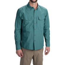 Simms Guide Shirt - UPF 50+, Button Front, Long Sleeve (For Men) in Cadet Blue - Closeouts