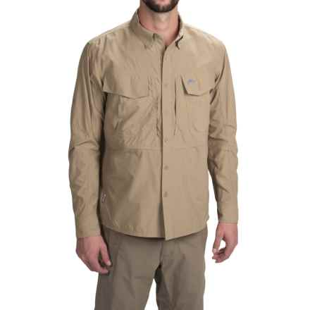Simms Guide Shirt - UPF 50+, Button Front, Long Sleeve (For Men) in Cork - Closeouts
