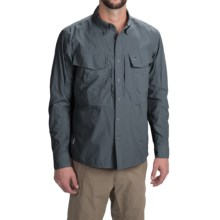 Simms Guide Shirt - UPF 50+, Button Front, Long Sleeve (For Men) in Nightfall - Closeouts