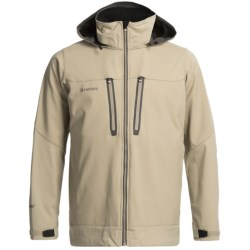 Simms Guide Soft Shell Jacket - Windstopper® (For Men) in Dune