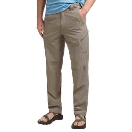 Simms Guide Stretch Nylon Pants - UPF 50+ (For Men) in River Rock - Closeouts