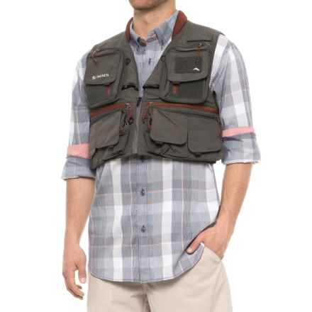 Simms Guide Vest (For Men) in Greystone - Closeouts