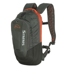 Simms Headwaters 1/2 Day Hydration Backpack in Fury Orange - Closeouts