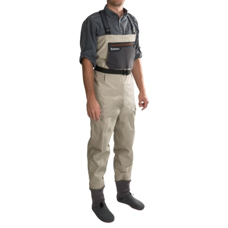 Simms Headwaters Gore-Tex® Waders - Stockingfoot (For Men and Women) in Sand