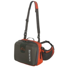 Simms Headwaters Guide Hip Pack in Fury Orange - Closeouts