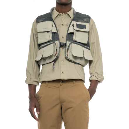 Simms Headwaters Mesh Fishing Vest (For Men) in Sand - Closeouts