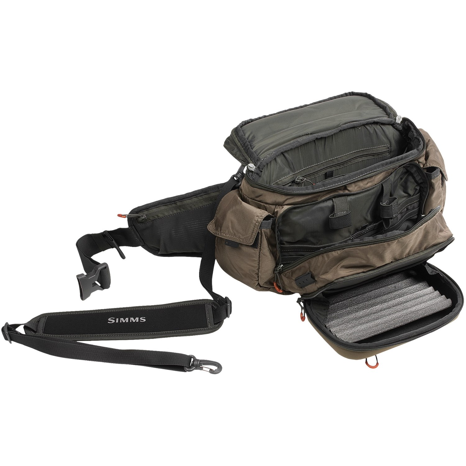 Simms headwaters pro fishing waist pack 6411a save 35 for Fishing waist pack