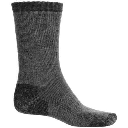 Simms Heavyweight Wading Socks - Merino Wool, Crew (For Men) in Gunmetal - Closeouts
