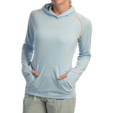 Simms Horizon Hoodie - UPF 50+ (For Women) in Aqua - Closeouts