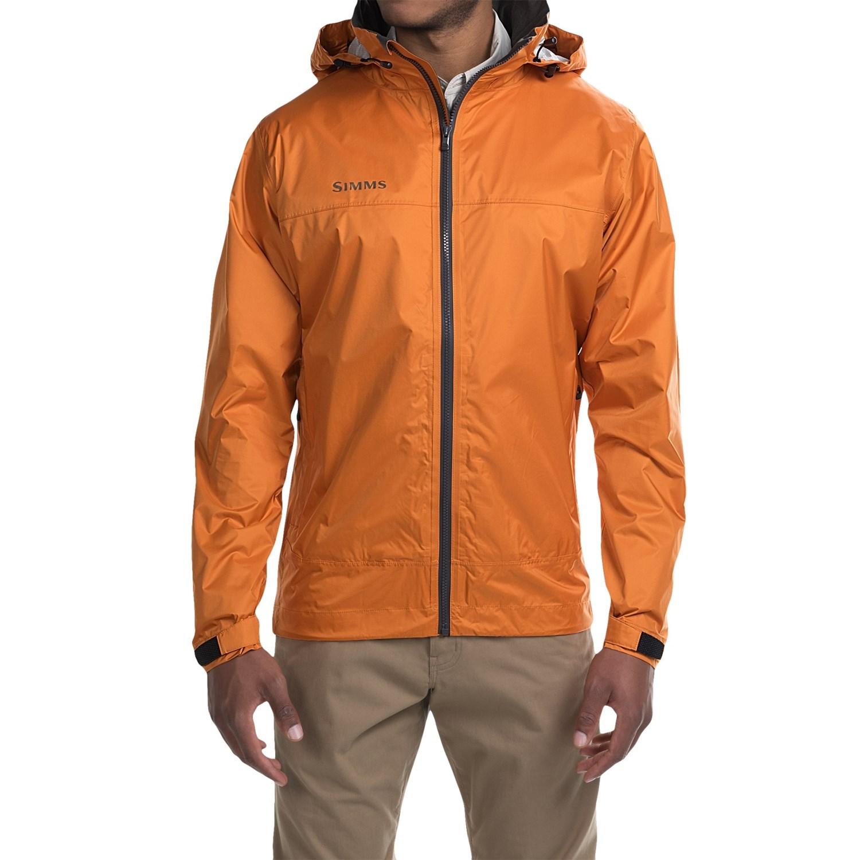 Customer Reviews of Simms Hyalite Rain Jacket (For Men)