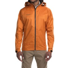Simms Hyalite Rain Jacket (For Men) in Clay - Closeouts