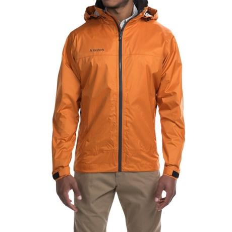 Simms Hyalite Rain Jacket (For Men) in Clay
