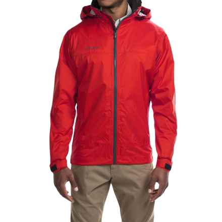 Simms Hyalite Rain Jacket (For Men) in Scarlet - Closeouts