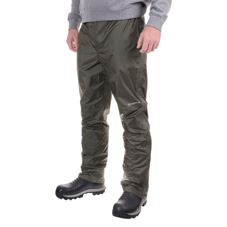 Simms Hyalite Rain Pants For Men Save 46