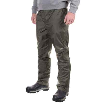 Simms Hyalite Rain Pants (For Men) in Dark Gunmetal - Closeouts