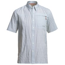 Simms Inlet Fishing Shirt - UPF 30+, Short Sleeve (For Men) in River - Closeouts
