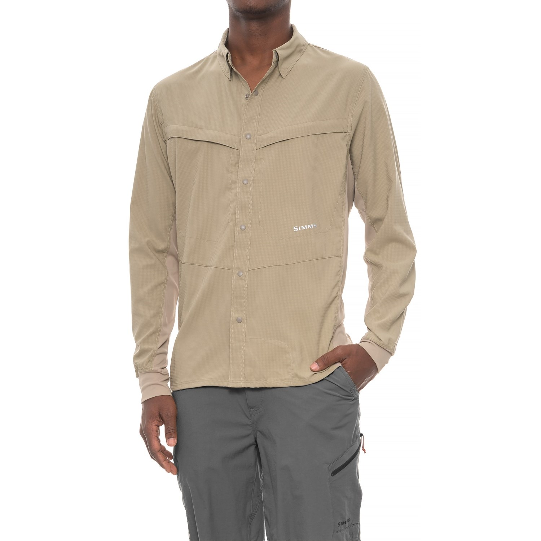 c3dbc541 Simms Intruder® Bicomp Shirt - UPF 30+, Snap Front, Long Sleeve (For Men)