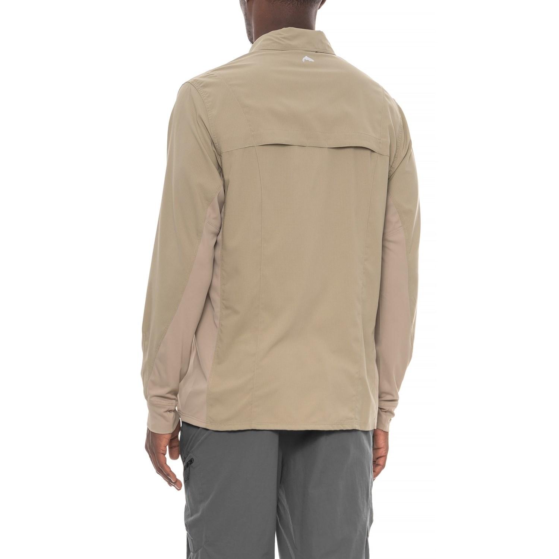 7050c5b7 Simms Intruder® Bicomp Shirt - UPF 30+, Snap Front, Long Sleeve (For Men)