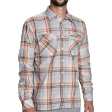 Simms Kenai Shirt - UPF 50+, Long Sleeve (For Men) in Grey Plaid - Closeouts