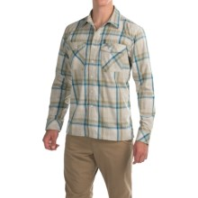 Simms Kenai Shirt - UPF 50+, Long Sleeve (For Men) in Ink Plaid - Closeouts
