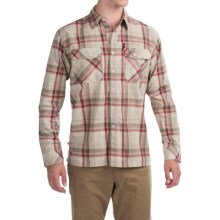 Simms Kenai Shirt - UPF 50+, Long Sleeve (For Men) in Ruby Plaid - Closeouts