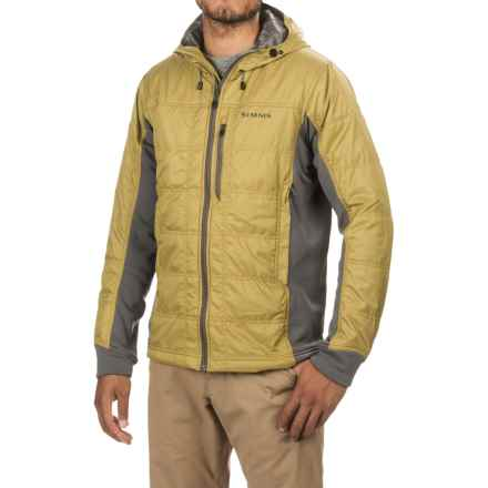 Simms Kinetic PrimaLoft® Jacket - Insulated, Polartec® Wind Pro® (For Men) in Army Green - Closeouts