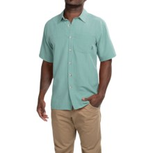 Simms Long Haul Shirt - UPF 30, Short Sleeve (For Men) in Slate Blue - Closeouts