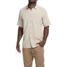 Simms Long Haul Shirt - UPF 30, Short Sleeve (For Men) in Stone - Closeouts