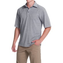 Simms Lowcountry Tech Polo Shirt - UPF 20+, Short Sleeve (For Men) in Nightfall - Closeouts
