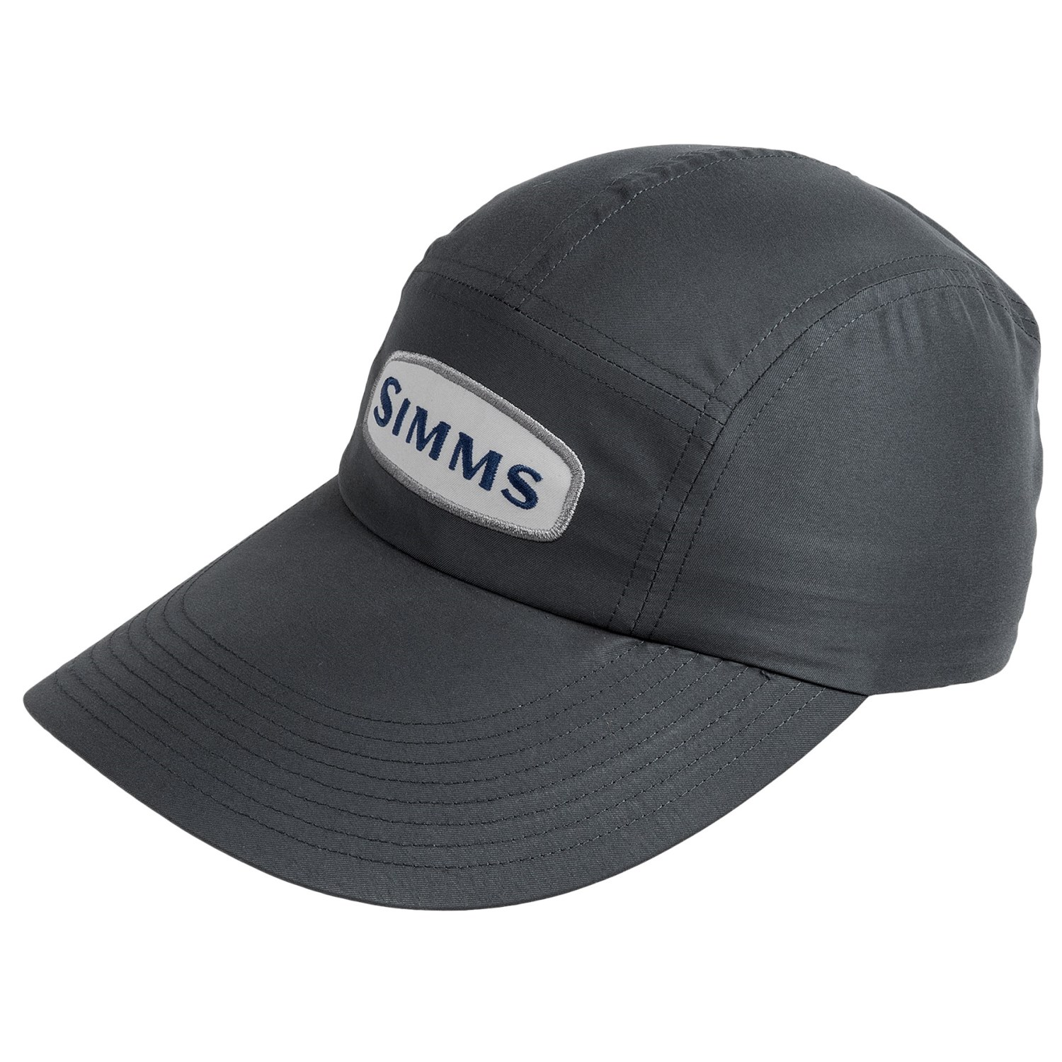 Simms microfiber long bill cap upf 50 for men save 36 for Long bill fishing hat