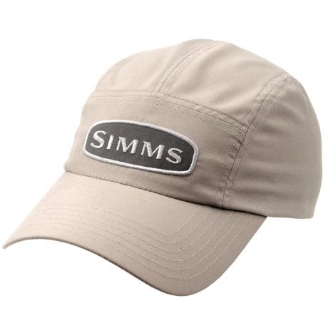Simms fly fishing cool dry microfiber short bill hat for Long bill fishing hat