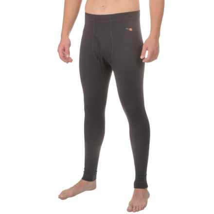 Simms Montana Wool Mid Base Layer Pants (For Men) in Black - Closeouts